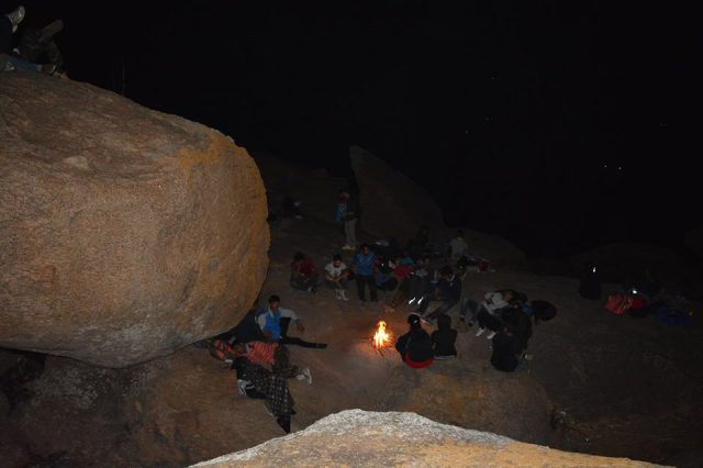 kunti betta night trek