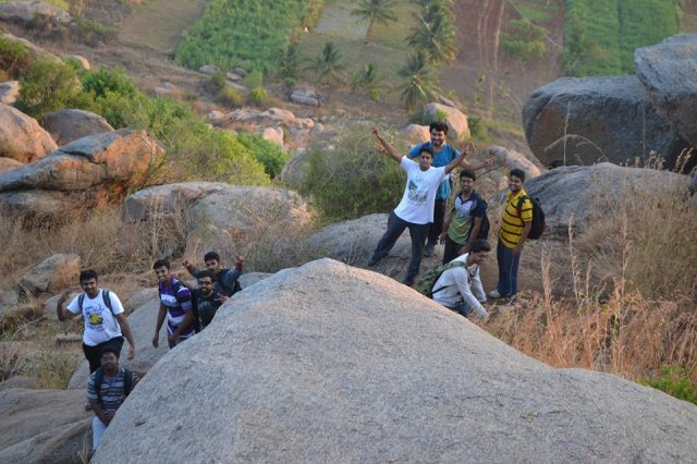 night trek at kunti betta 4