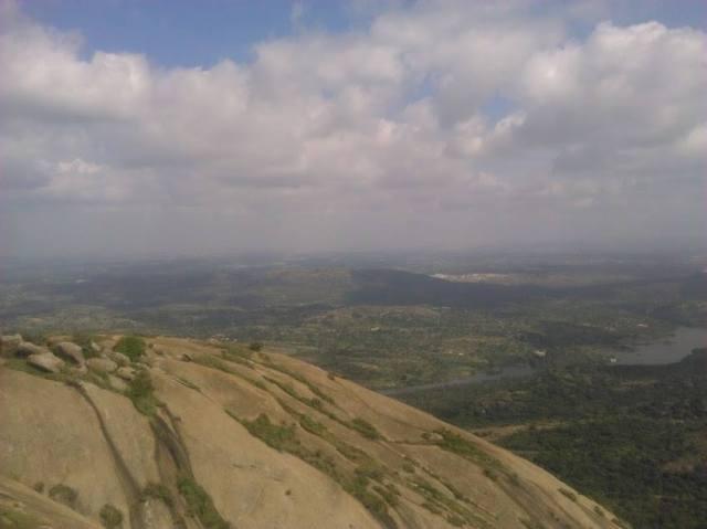Savandurga Fort trekking