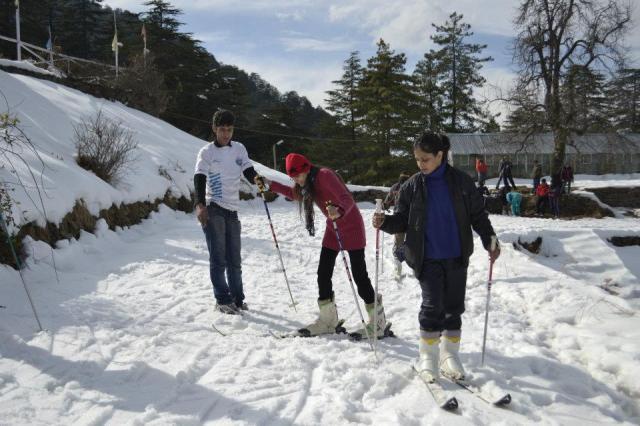 skiing Mashobra 1