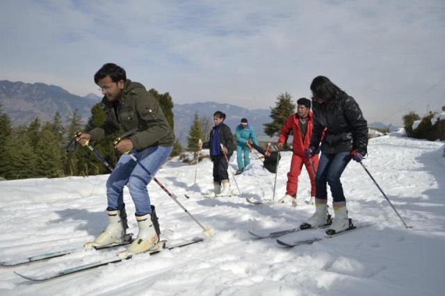 skiing Mashobra 12