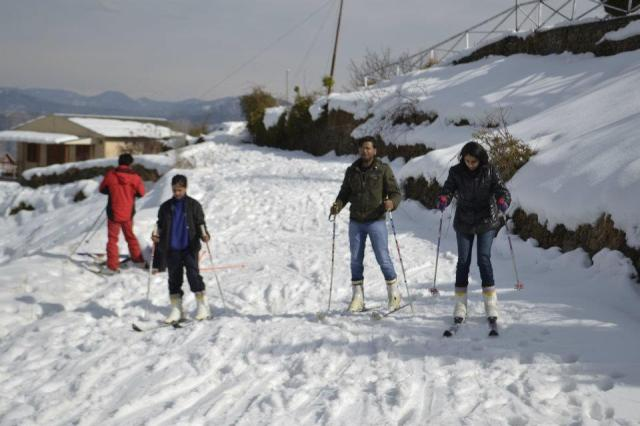 skiing Mashobra 13