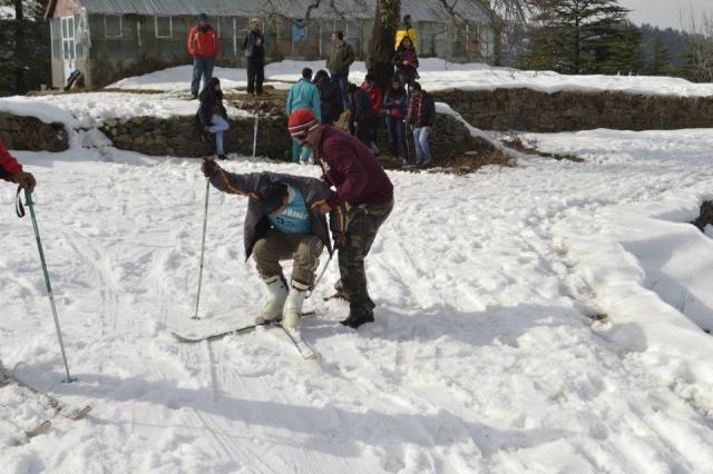 skiing Mashobra 2