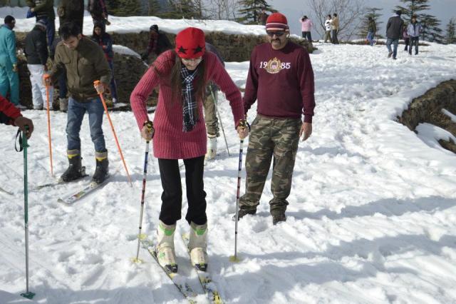 skiing Mashobra 4