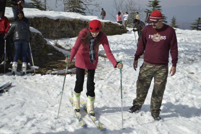 skiing Mashobra  5