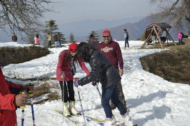skiing Mashobra  6