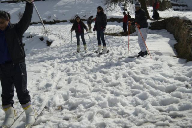 skiing Mashobra  8