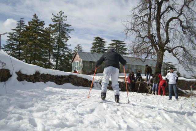 skiing Mashobra  9