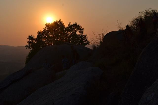 sunrise  at kunti betta 1