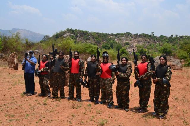 paintball in MANCHINBELE DAY OUTING 2
