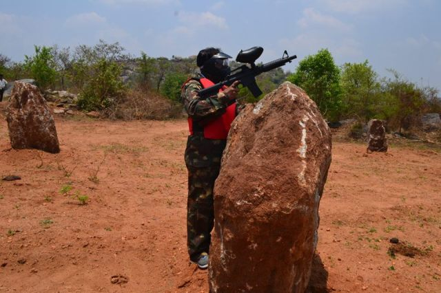 paintball in MANCHINBELE DAY OUTING near bangalore