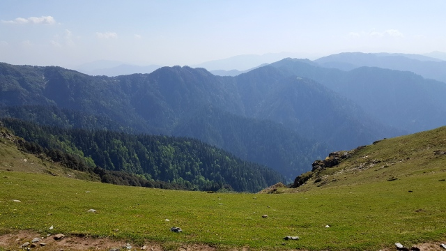 trek to Lambri Top