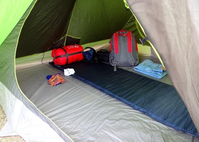 camping at parashar lake 2