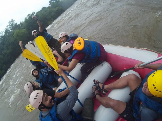 action rafting