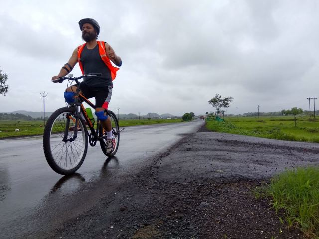 Asangoan to Dehne cycling 1