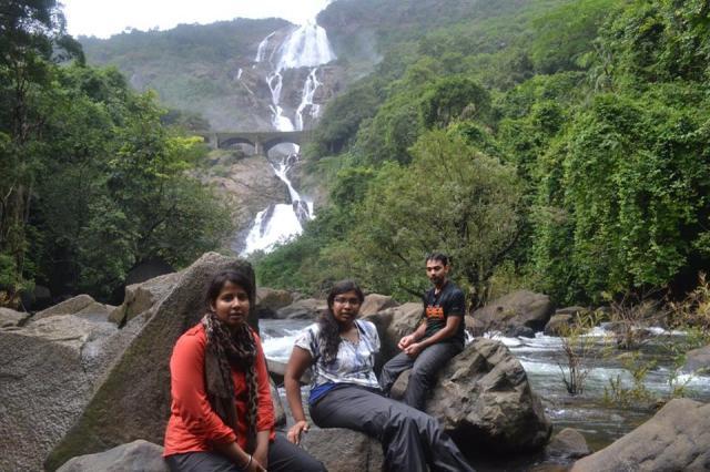 dudhsagar falls trekking 5