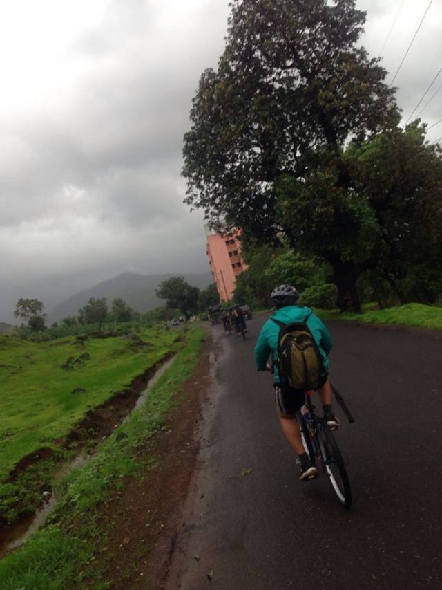 Outdoor Cycle Ride Karjat to Kondana Caves 2