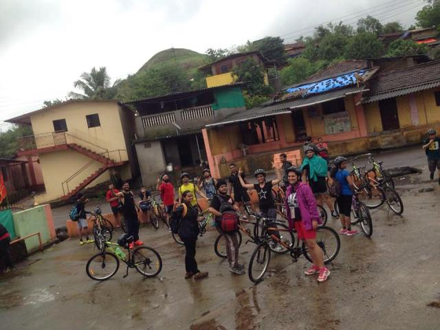 Outdoor Cycle Ride Karjat to Kondana Caves 3