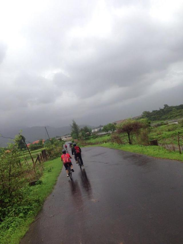 Outdoor Cycle Ride Karjat to Kondana Caves 4