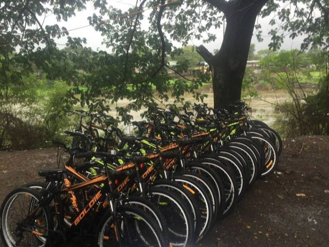 Outdoor Cycle Ride Karjat to Kondana Caves