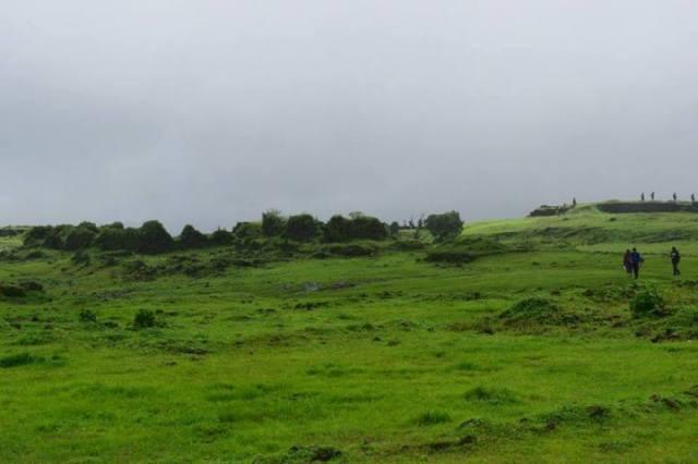 top of Korigad Monsoon Trek