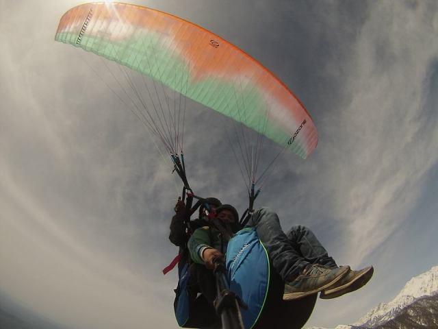billing paragliding cost