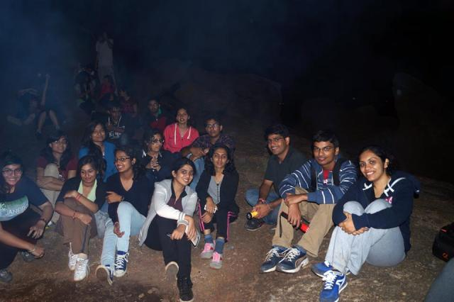 kunti beta night trek and bonfire