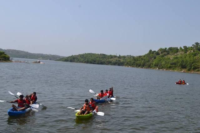 Narayangiri Night Trek With Manchinabele Water Activity 11