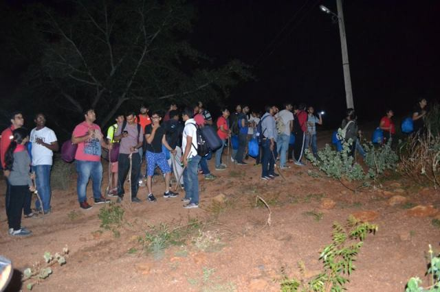 Night Trekking at Narayangiri 2
