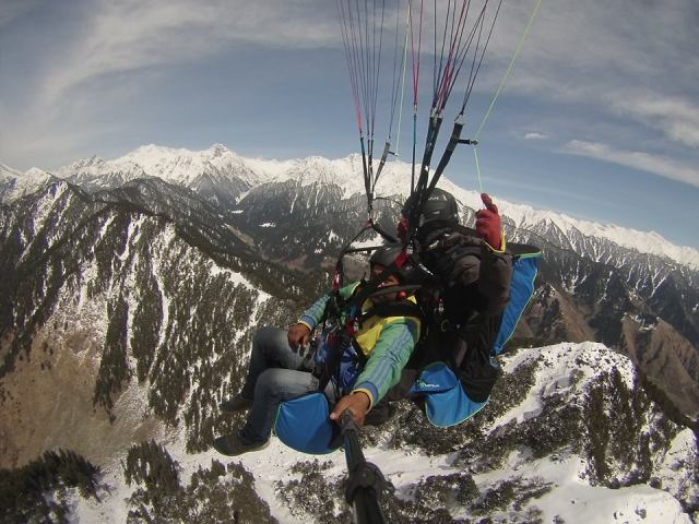 paragliding in bir billing cost