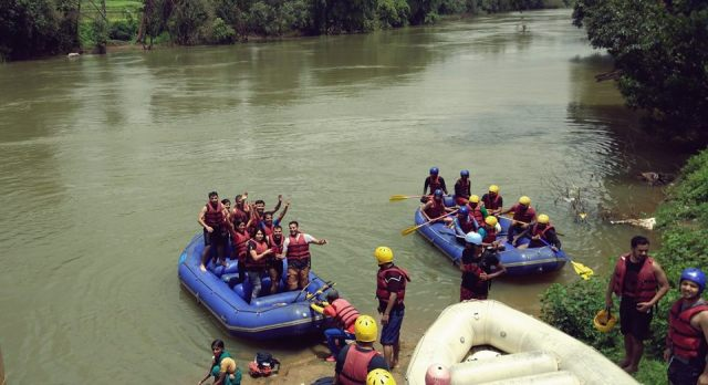 river rafting in coorg 14