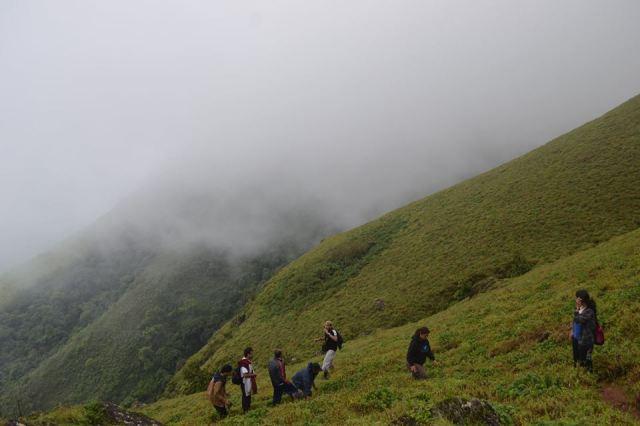 Mullayanagiri Trek in Chikmagalur 1