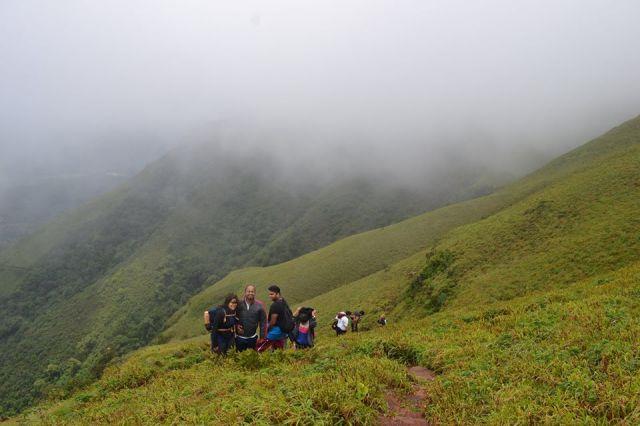 Mullayanagiri Trek in Chikmagalur 2