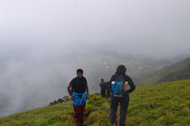 Mullayanagiri Trek in Chikmagalur 3