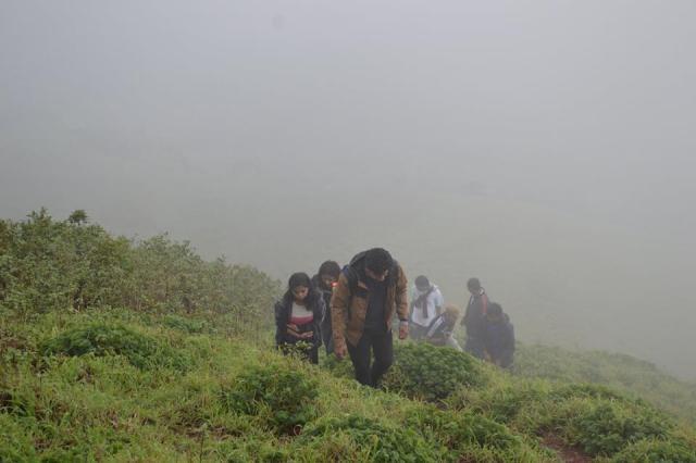 Mullayanagiri Trek in Chikmagalur 9