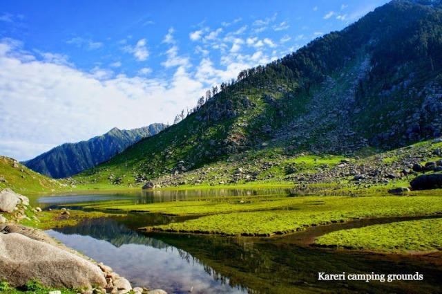 Kareri Lake Camping