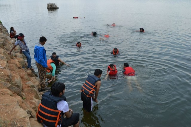 Mountain And Water Sports Kids Camp at Wai