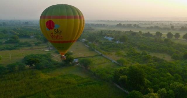 Hot Air Balloon Safari in Ranthambore